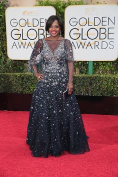 Check out the red carpet style from the biggest awards show (so far) of 2016. Viola Davis