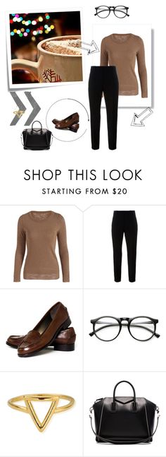 """""""Untitled #815"""" by flady ❤ liked on Polyvore featuring Post-It, Marni, Talbots, ZeroUV, ChloBo and Givenchy"""