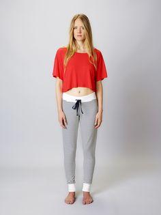 Stripey Jogger and Crop Tee Yoga Bolster, Meditation Cushion, Restorative Yoga, Yoga Accessories, Crop Tee, Joggers, Tees, Pants, Shopping