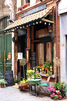 Pretty Cafe in Antwerp, Belgium