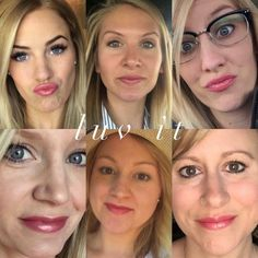 LipSenseColor Collage: Luv It LipSense // SeneGence independent distributor #237343