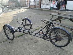 Dutch Cargo Bicycle - Coffee Tricycle - Vintage bicycle -Town bike | eBay
