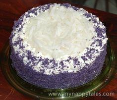 Ube (Purple Yam) Macapuno Cake | Tasty Kitchen: A Happy Recipe Community!