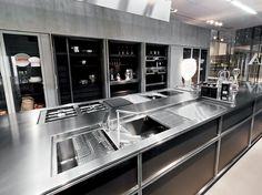 La italiana de cocinas de lujo, #Rossana, presenta su nueva cocina para el hogar, TK 38.