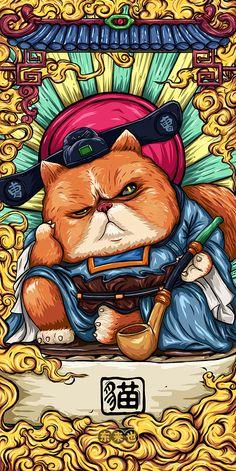 Wallpaper Graffiti, Cartoon Wallpaper, Graffiti Art, Wallpaper Backgrounds, Hannya Samurai, Samurai Art, Japanese Pop Art, Japanese Artwork, Comic Style Art