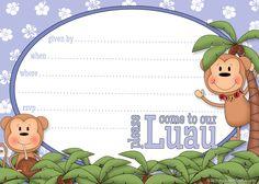 Printable Luau Party Invite Template | Printable Party Kits2100 x 1500 | 1.1 KB | printablepartykits.com