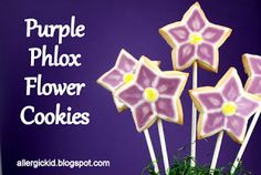 Tutorial for making a bouquet of decorated #vegan #flower #cookies.  Dauughter's birthday??