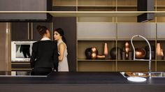 What's hot in European kitchen trends European Kitchens, Black Kitchens, Kitchen Black, Luxury Italian Furniture, Photos 2016, Layout, Interior Decorating, Interior Design, Swedish Design