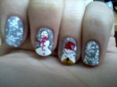 x-mas nails :)