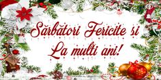 Diy And Crafts, Happy Birthday, Christmas, Roses, Noel, Christmas Time, Happy Brithday, Xmas, Urari La Multi Ani