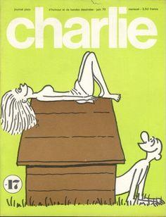 Charlie Mensuel - # 17 - Juin 1970 - Couverture de Wolinski