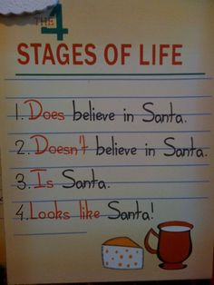stages of Life - Santa