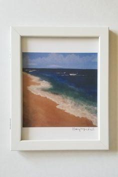 Beach House Decor, Home Decor, Beach Art, Beach Themes, Fine Art Paper, Original Paintings, Art Prints, Living Room, Frame