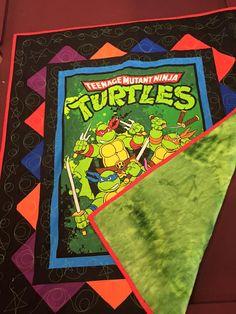 teenage Mutant Ninja Turtle Quilt