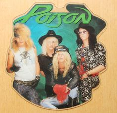 Poison – Every Rose Has Its Thorn shaped vinyl picture disc