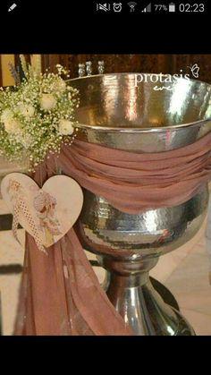 Baptism Centerpieces, Christening, Flower Power, Table Decorations, Wedding Dresses, Flowers, Vintage, Party, Amazing