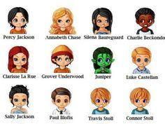 Which Percy Jackson And The Olympians Character Are You? I got Annabeth