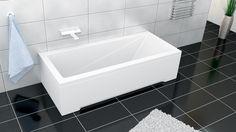Idealne wkomponuje się w nowoczesne wnętrze, natomiast w zależności od wymiaru na jaki się zdecydujecie, możecie wpasować ją zarówno w niewielki metraż, jak i do nieco większej łazienki. Polecamy wannę MODERN!