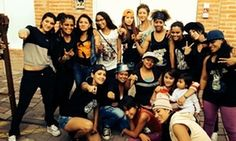 United we stand: the women in the hip-hop collective, Somos Mujeres Somos Hip-Hop, in 2013.