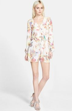 Willow & Clay Surplice Romper available at #Nordstrom