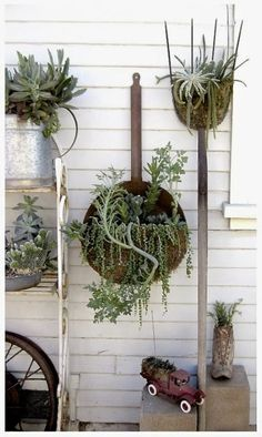 I feel that part of all gardening styles should include even a wee bit of whimsy.....something playful, fanciful, amusing, and certainly appealing- an addition to your garden that makes you smile a...