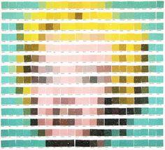 Les mosaïques Pantone de Nick Smith