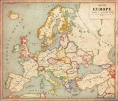 Alternate History Map of Europe v2 by Regicollis on DeviantArt
