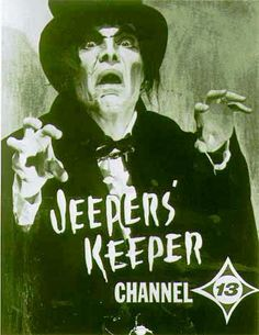 Los Angeles area Horror TV Host - Jeepers Keeper - 1960's