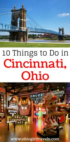 Are you looking for fun things to do in Cincinnati Ohio? If so, we have an awesome travel guide for Cincinnati Ohio including places to see in Cincinnati, food to eat in Cincinnati, and much more. Don't forget to save these tips for Cincinnati to your travel board so you can find it later. #cincinnati #cincinnatiohio #ohiotraveltips
