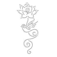 lotus flower koru tattoo | permalink: http://www.tattootribes.com/index.php?idinfo=2926