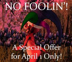 Judith Cullen - Stories: COMING APRIL 1 ~ NO FOOLIN'!