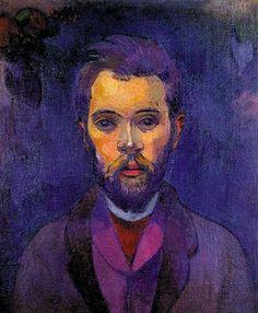 Paul Gauguin: Portrait de William Molard, 1893-1894.