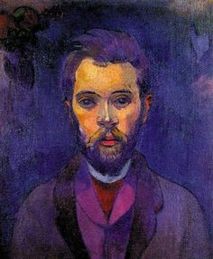Paul Gauguin: Portrait de William Molard, 1893-1894