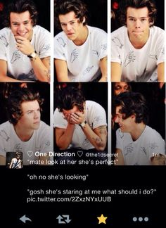 Harry imagine.... y'all dont even know Like if this ever happened and he called me perfect I'd probably cry lol just kidding. I'd laugh and make him tell me a joke