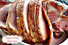 Mommy's Kitchen - Home Sweet - Home Cooking: Honey Baked Ham {Copy Cat Recipe} Copykat Recipes, Ham Recipes, Easter Recipes, Thanksgiving Recipes, Holiday Recipes, Cooking Recipes, Kitchen Recipes, Cooking Bacon, Cooking Beets