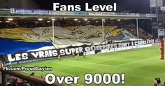 Fans level over 9000 ! | Be-troll