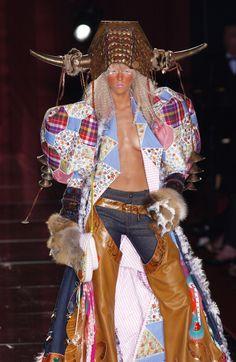 John Galliano for Christian Dior Fall Winter 2001 Ready-to-Wear