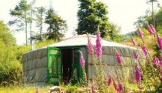 yurt from The Lovely Yurt Company