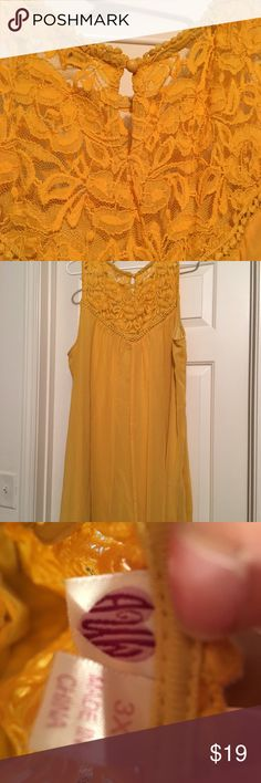 Mustard Yellow Spring Dress Beautiful & Other Stories Dresses Mini