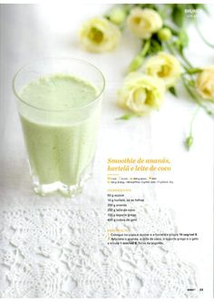 Brunch, Kitchen Time, Fruit Juice, Healthy Recipes, Healthy Food, Glass Of Milk, Smoothie, Meal Planning, Paleo