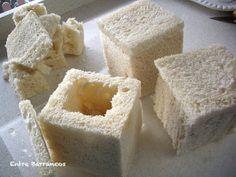 Entre Barrancos (COCINA): Huevos Relleno, Dairy, Cheese, Food, Flaky Pastry, Custard, Cook, Recipes, Scrambled Eggs