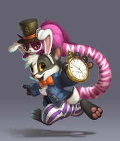 Brok in Wonderland by Silverfox5213.deviantart.com on @DeviantArt