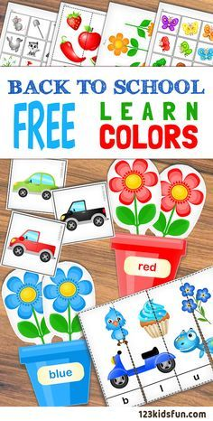 Kids for Worksheets: FREE Printables – Learn Colors. Colors sorting activities, colors puzzle game an… Color Activities For Toddlers, Colors For Toddlers, Preschool Colors, Teaching Colors, Preschool Learning Activities, Toddler Activities, Preschool Activities, Color Sorting For Toddlers, Color Worksheets For Preschool
