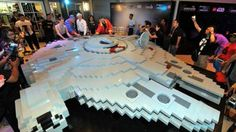 Lego builds 'world's largest' Millennium Falcon for Star Wars Day in Malaysia on.mash.to/1SLFMpV