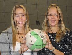 Gêmeas Monique e Michelle volei (Foto: Marcello Pires)