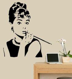 Hotportgift Audrey Hepburn Vinyl Wall Sticker Wall Decal Quote Wall Art Decor Removable HPG http://www.amazon.com/dp/B00C3U4AQA/ref=cm_sw_r_pi_dp_hT7Xub06FE000
