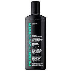 Peter Thomas Roth's Irish Moor Mud Purifying Cleanser Gel minimizes pores and smoothes your skin's surface.