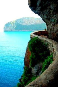 Cliffside Path, Bejaia, Algeria