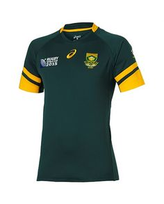 Rugby World Cup 2015 SOUTH AFRICA country collection - Rugby World Cup 2015 Springboks Replica Home Jersey