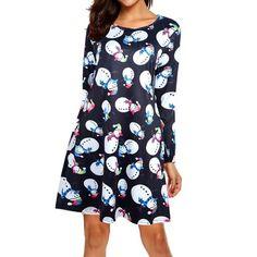 6a1511a485b4a Felicity Fancy Holiday Dress - 3 Amazing Patterns. Christmas Dress WomenHoliday  DressesXmasChristmas PrintWinter ChristmasSanta ...